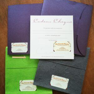 Cadeau Cheques